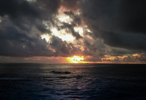 bulutlar, deniz kenarı, doğa, gezegen içeren Ücretsiz stok fotoğraf