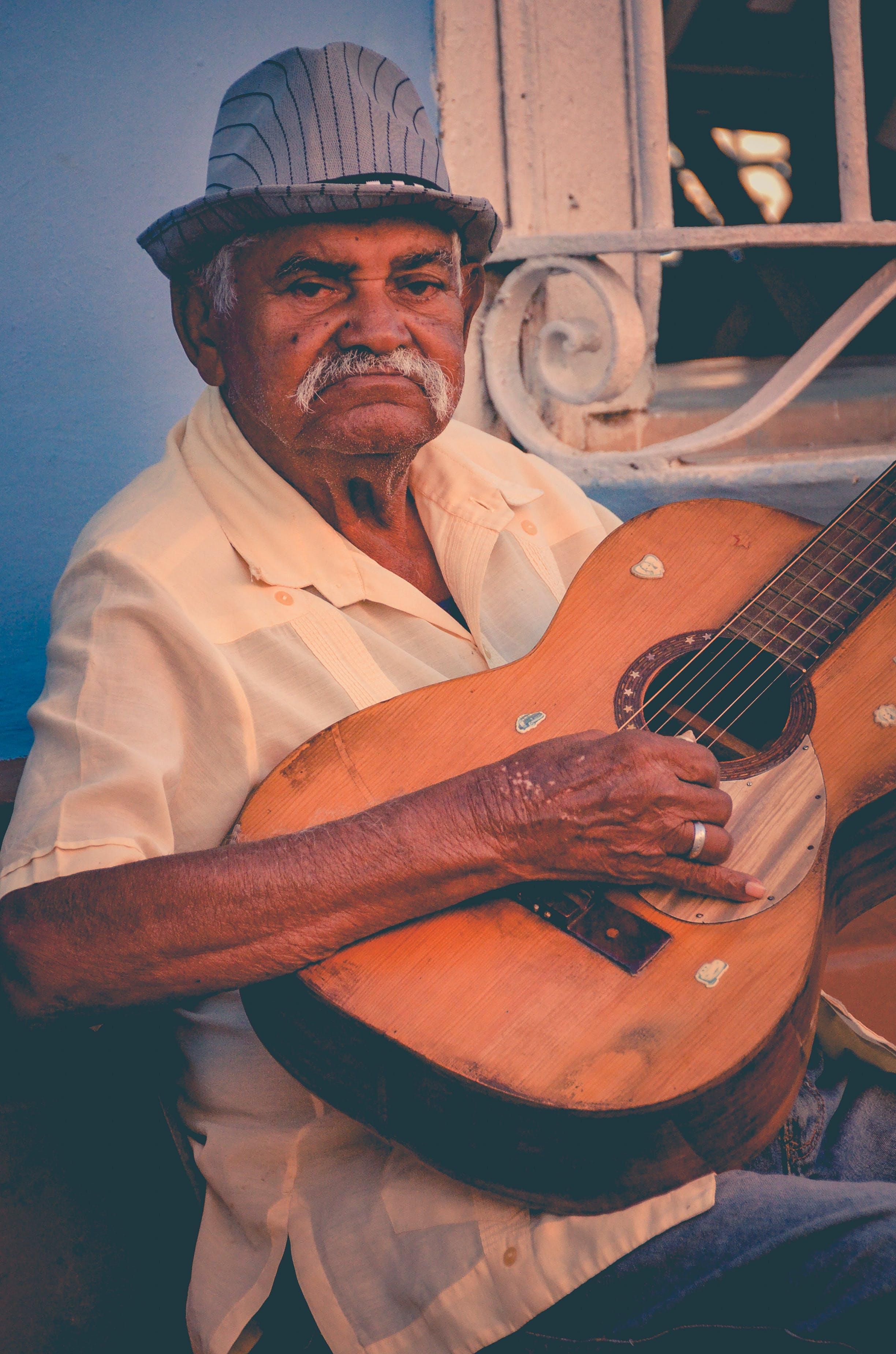 Free stock photo of cuba, guitar, latino, music
