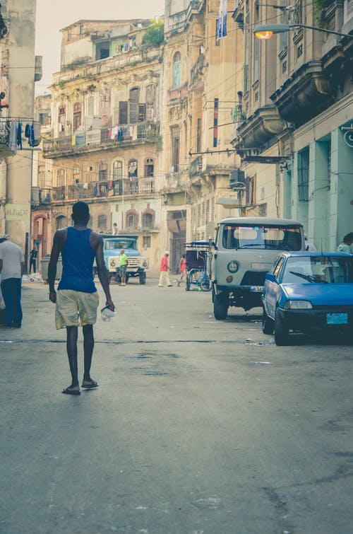Free stock photo of cars, city, cuba