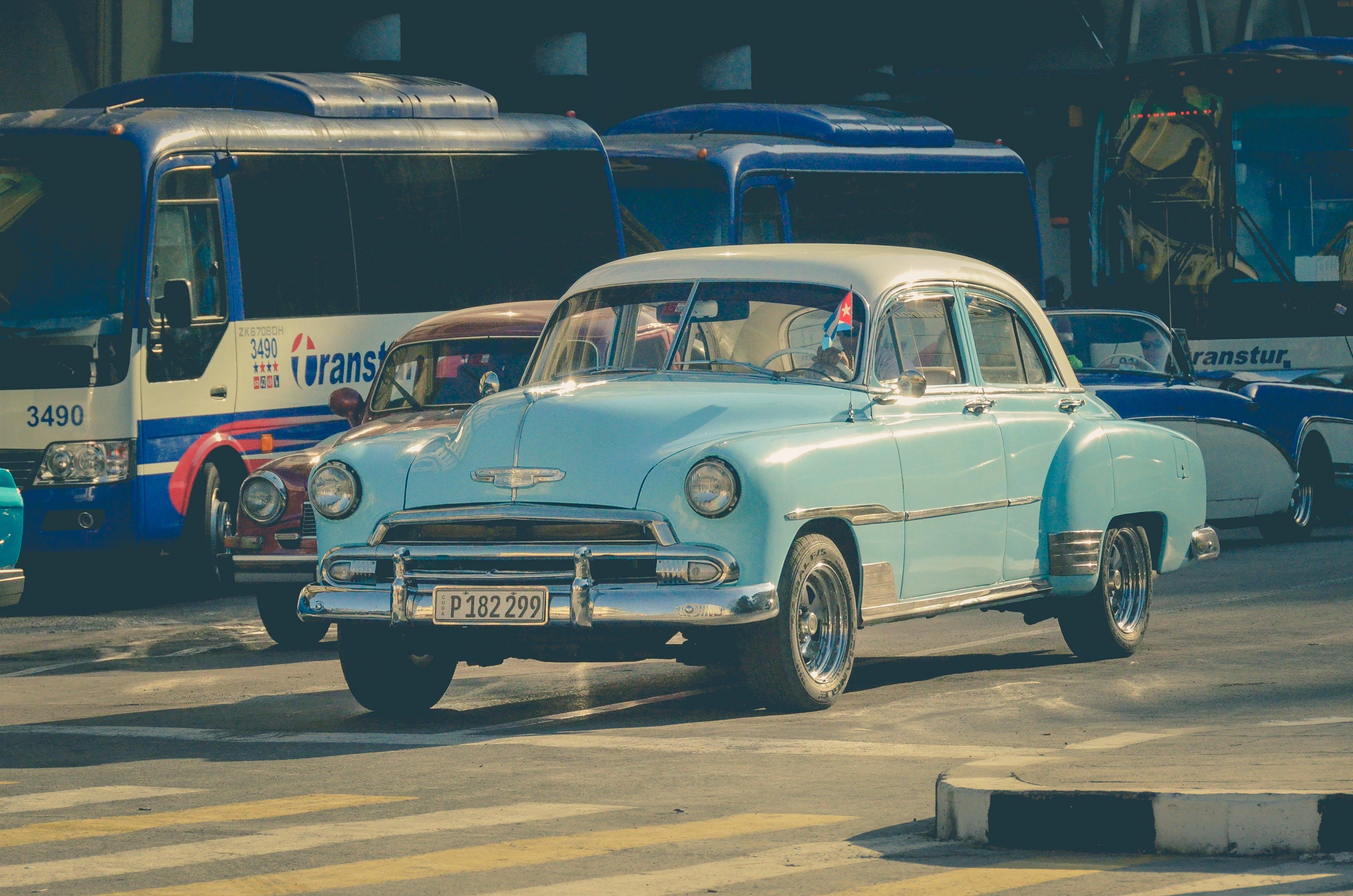 Free stock photo of american car, car, cuba, Cuba car