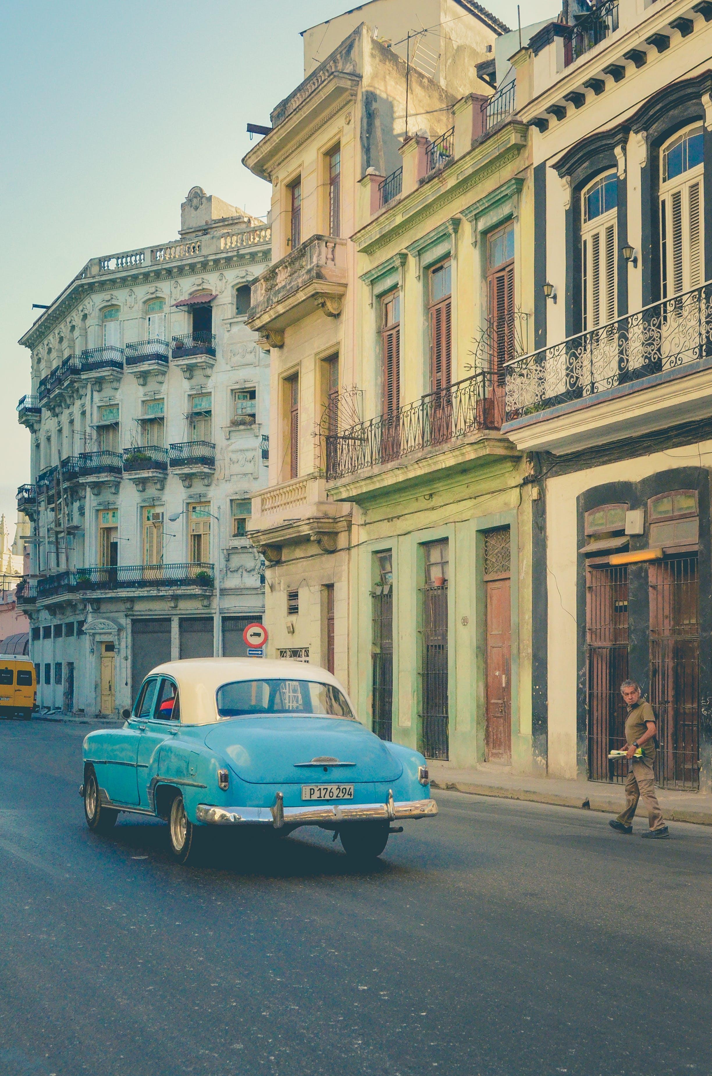 Foto profissional grátis de automóvel, cidade, construção, Cuba
