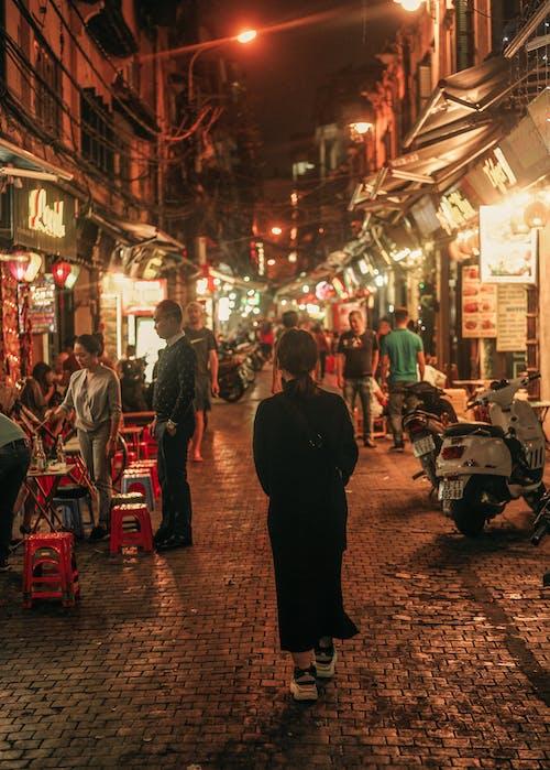 Ingyenes stockfotó #vietnami, éjszaka, éjszakai élet, Hanoi témában