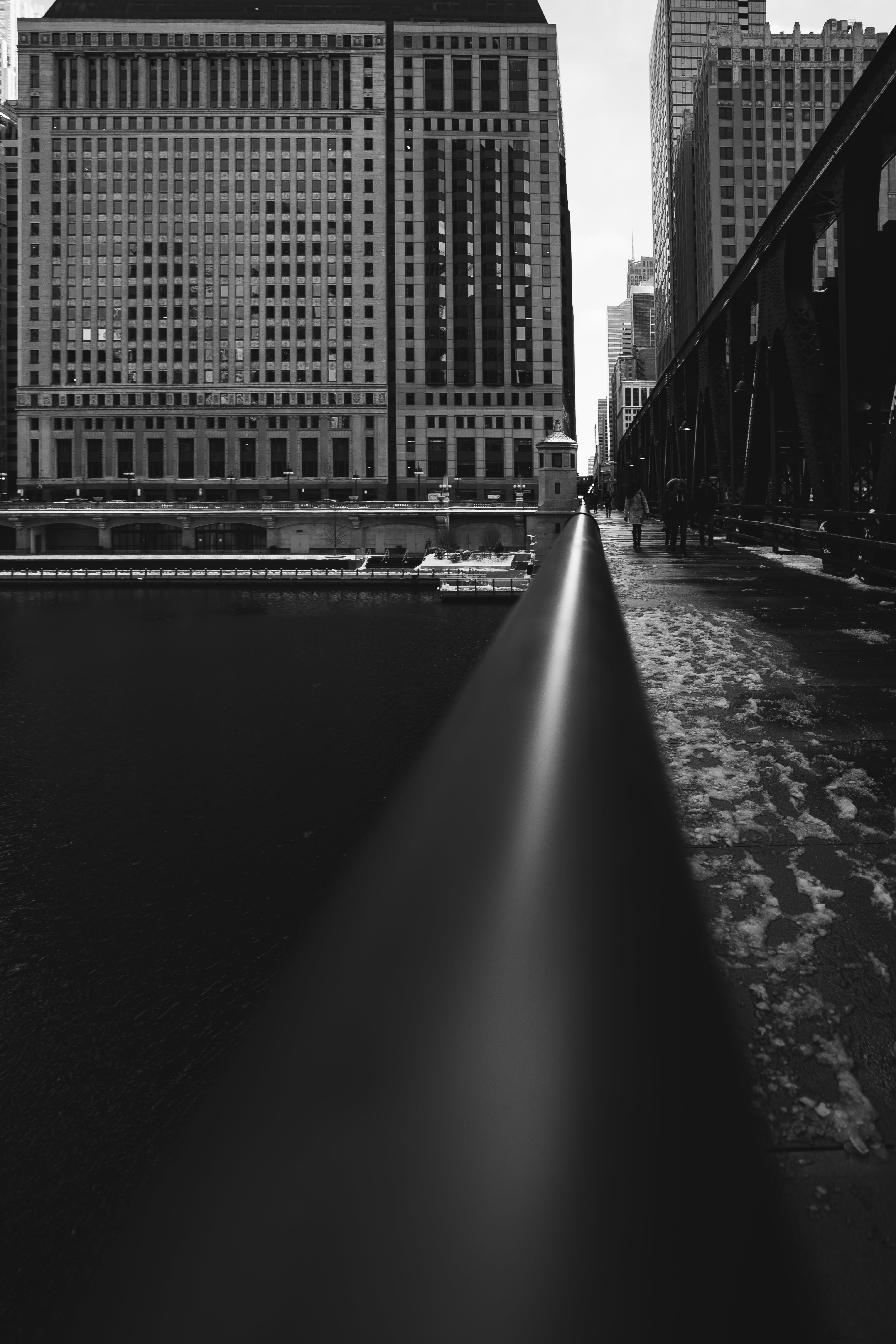 Grayscale Photography of Concrete Buildings