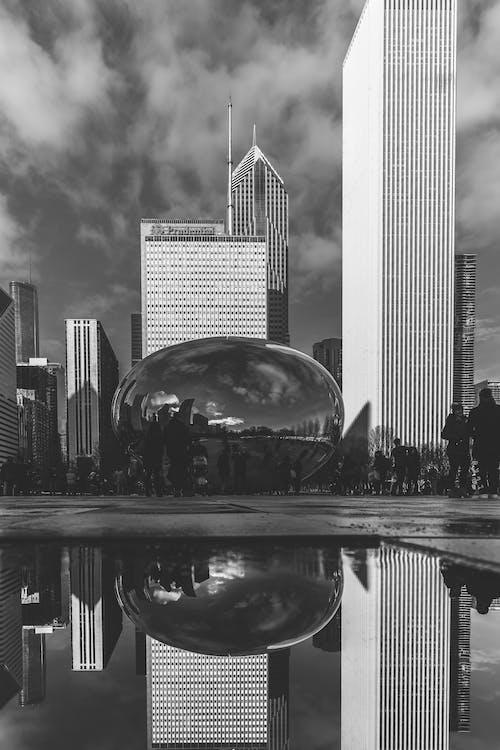 反射, 城市, 市中心, 市容 的 免費圖庫相片