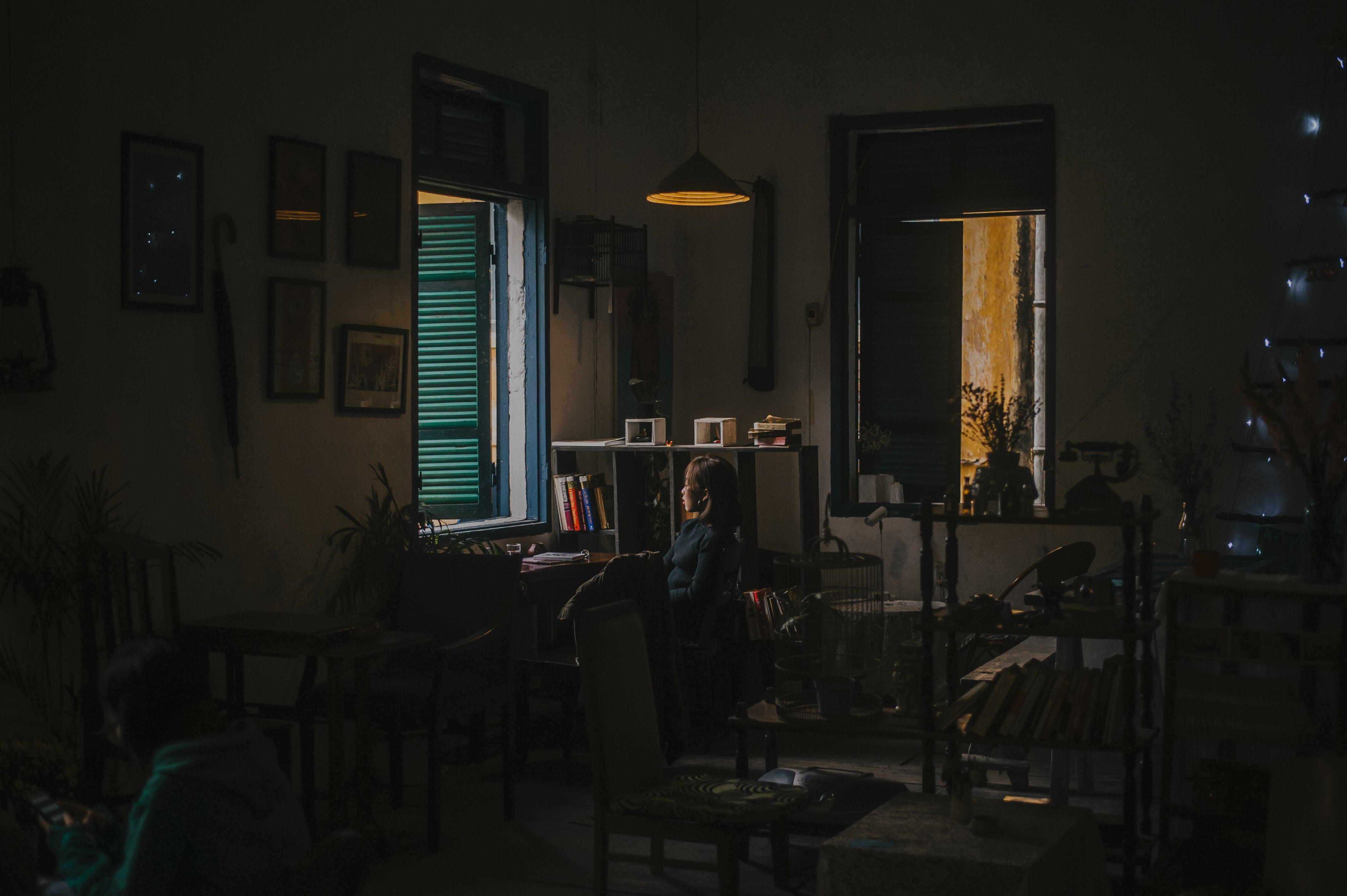 Kostnadsfri bild av arkitektur, inredningsdesign, lampa, ljus