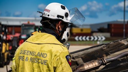 Ingyenes stockfotó autó, tűzoltó, ütközés, vészhelyzet témában