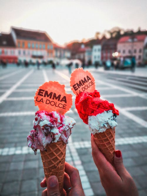 Two Emma La Dolce Ice Creams