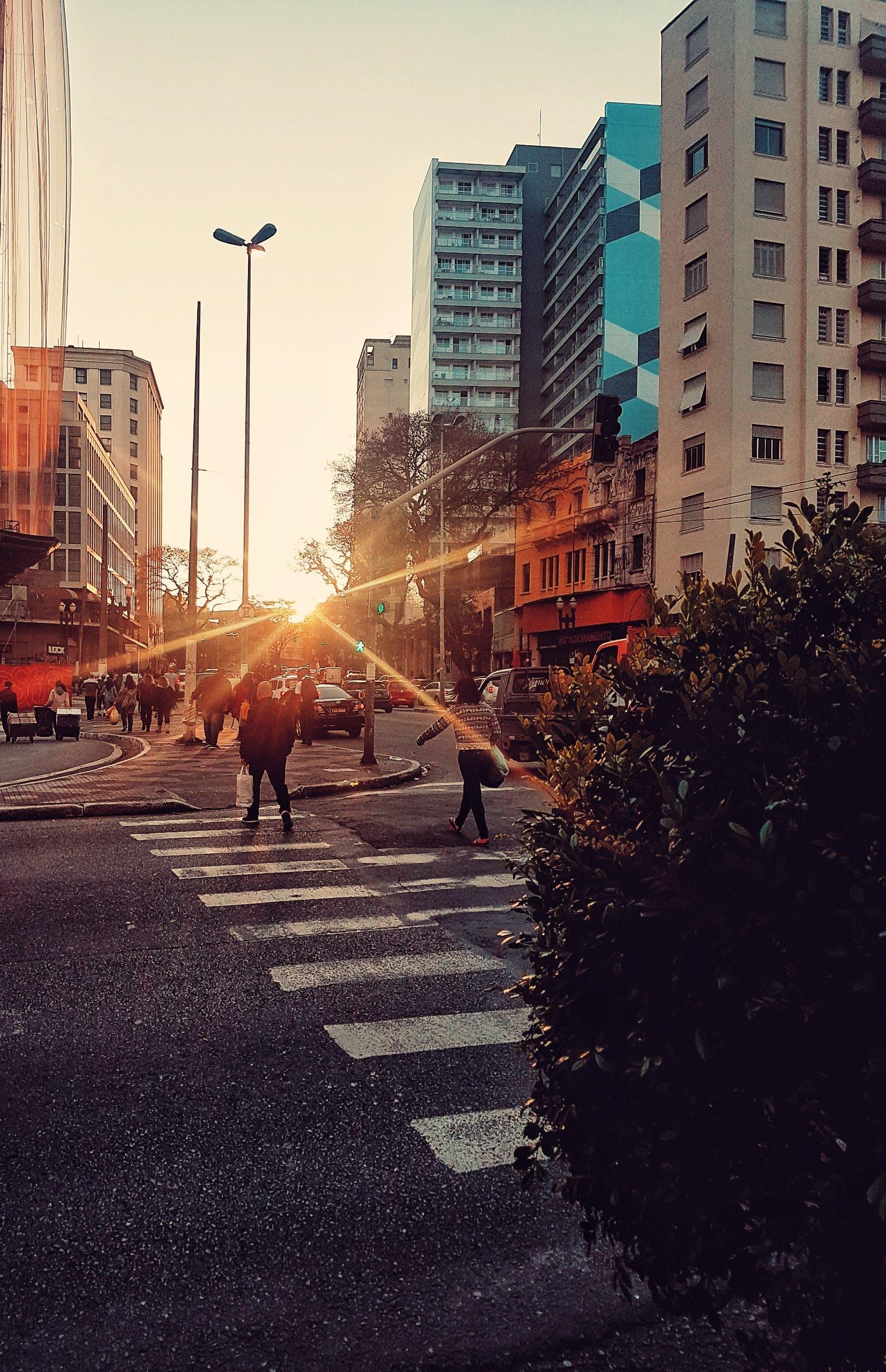 Free stock photo of back light, blue sky, brazil, city