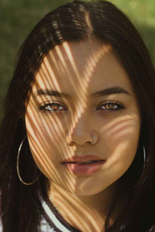 выражение лица, глаза, гламур
