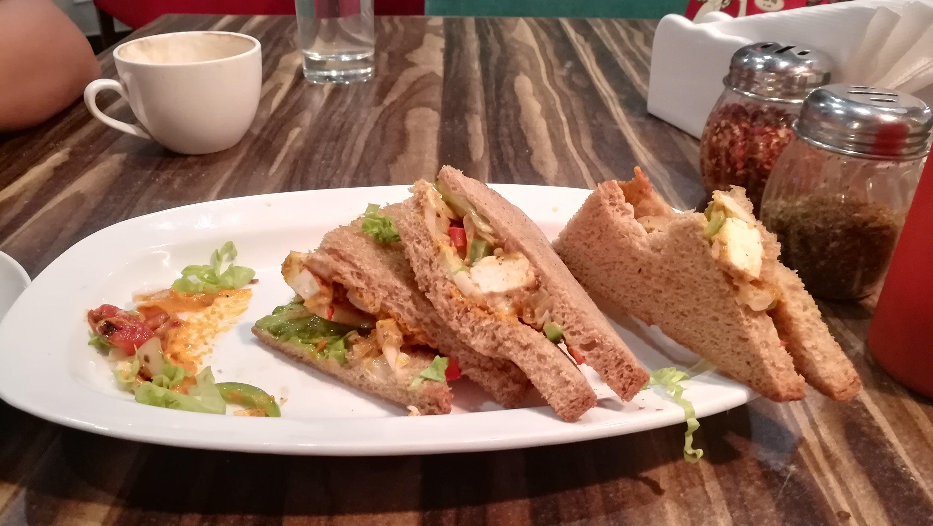 Free stock photo of fastfood, garlic bread, sandwich