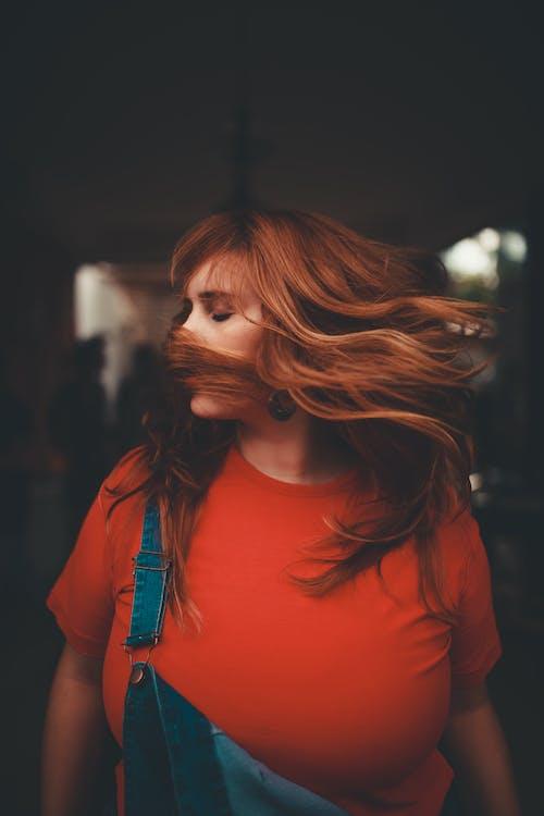 Kostnadsfri bild av dame, ha på sig, hår, kvinna