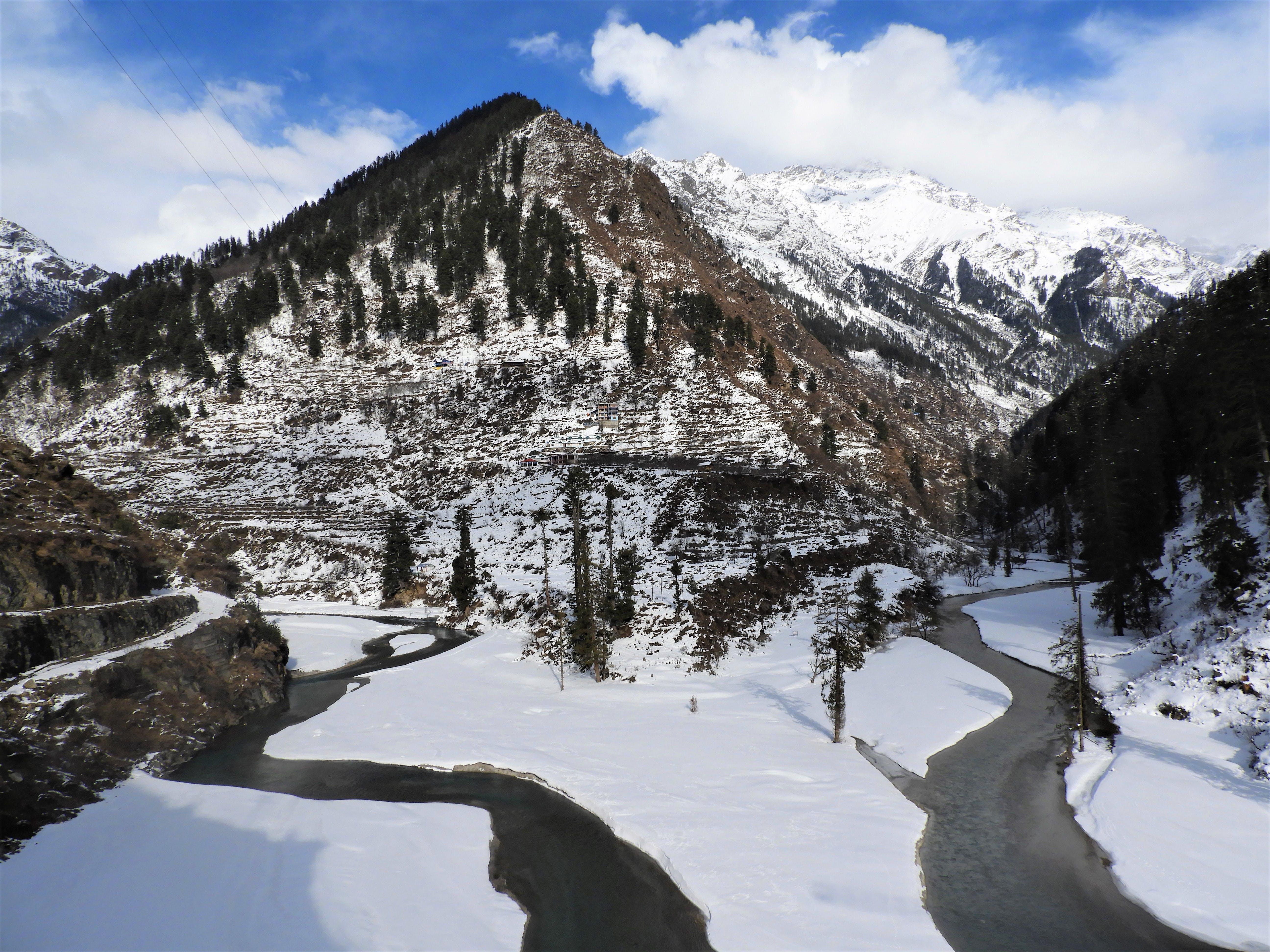 Kostenloses Stock Foto zu white mountains