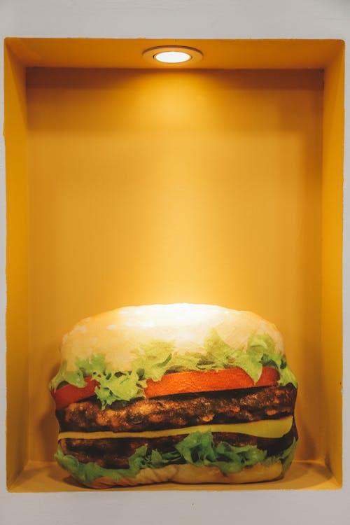 Kostenloses Stock Foto zu burger, essen, fast food, fleisch