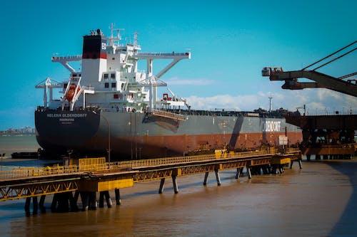 Бесплатное стоковое фото с американские горки, гавань, грузовое судно, долина
