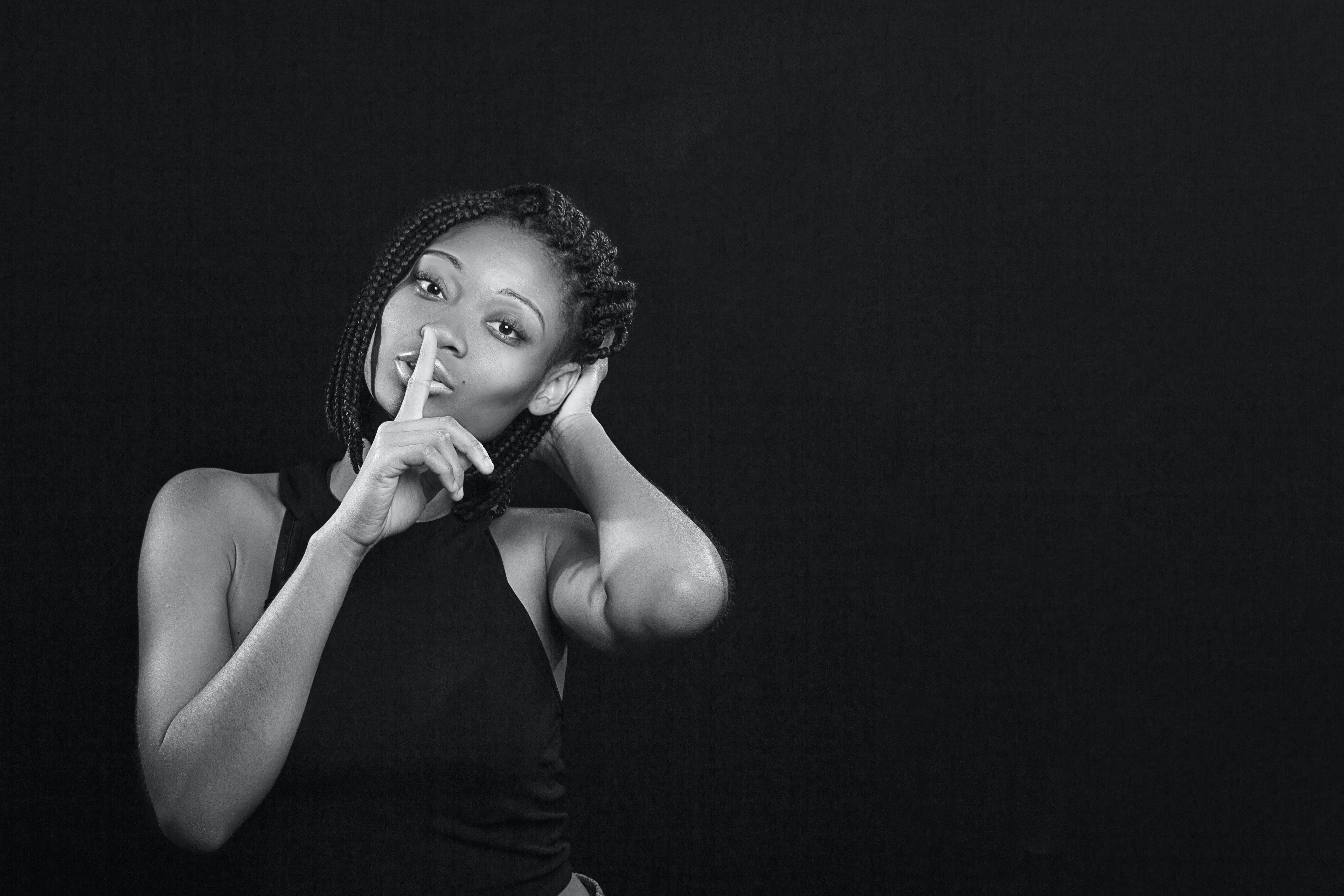 Ingyenes stockfotó afro-amerikai nő, álló kép, arckifejezés, divat témában