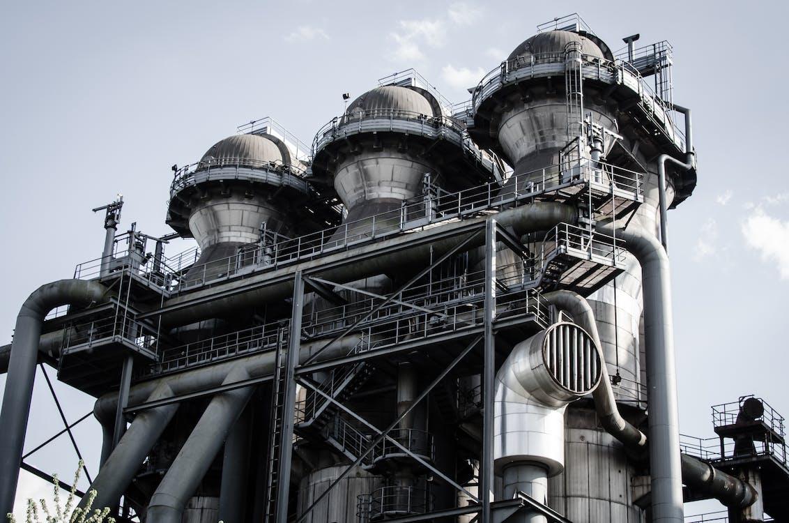 fabrik, industrie, industriell