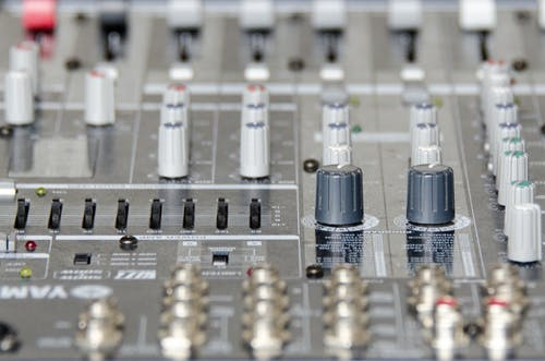 Free stock photo of audio, audio engineering, cross fader, fader
