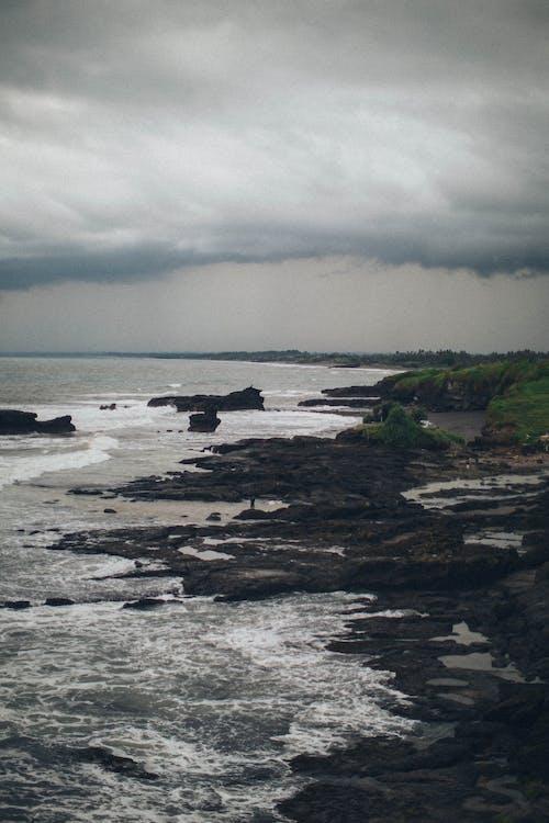 Darmowe zdjęcie z galerii z chmury, malowniczy, morze, nadmorski
