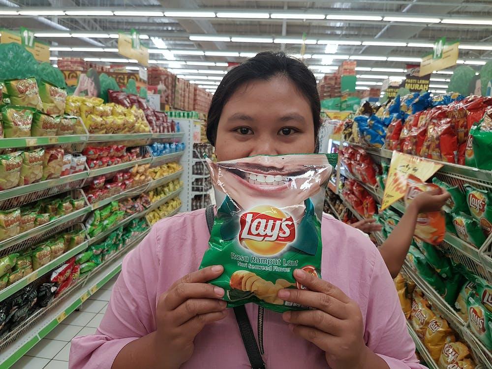 #indonesia #muslim #potato chips #lays