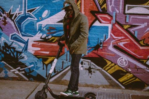Foto d'estoc gratuïta de barret, basko, byrd, escúter