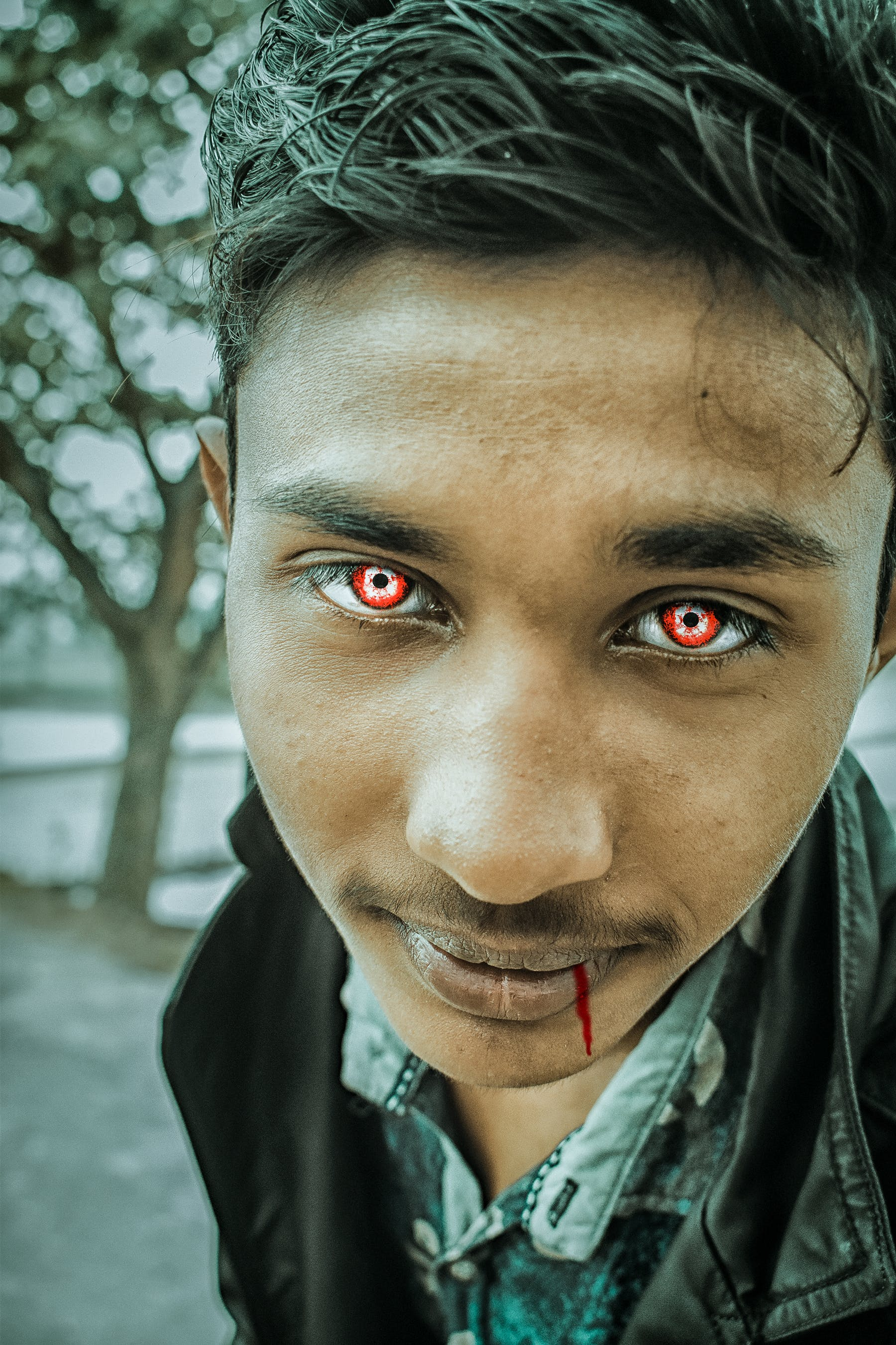 Free stock photo of actor, blood, boy, casual