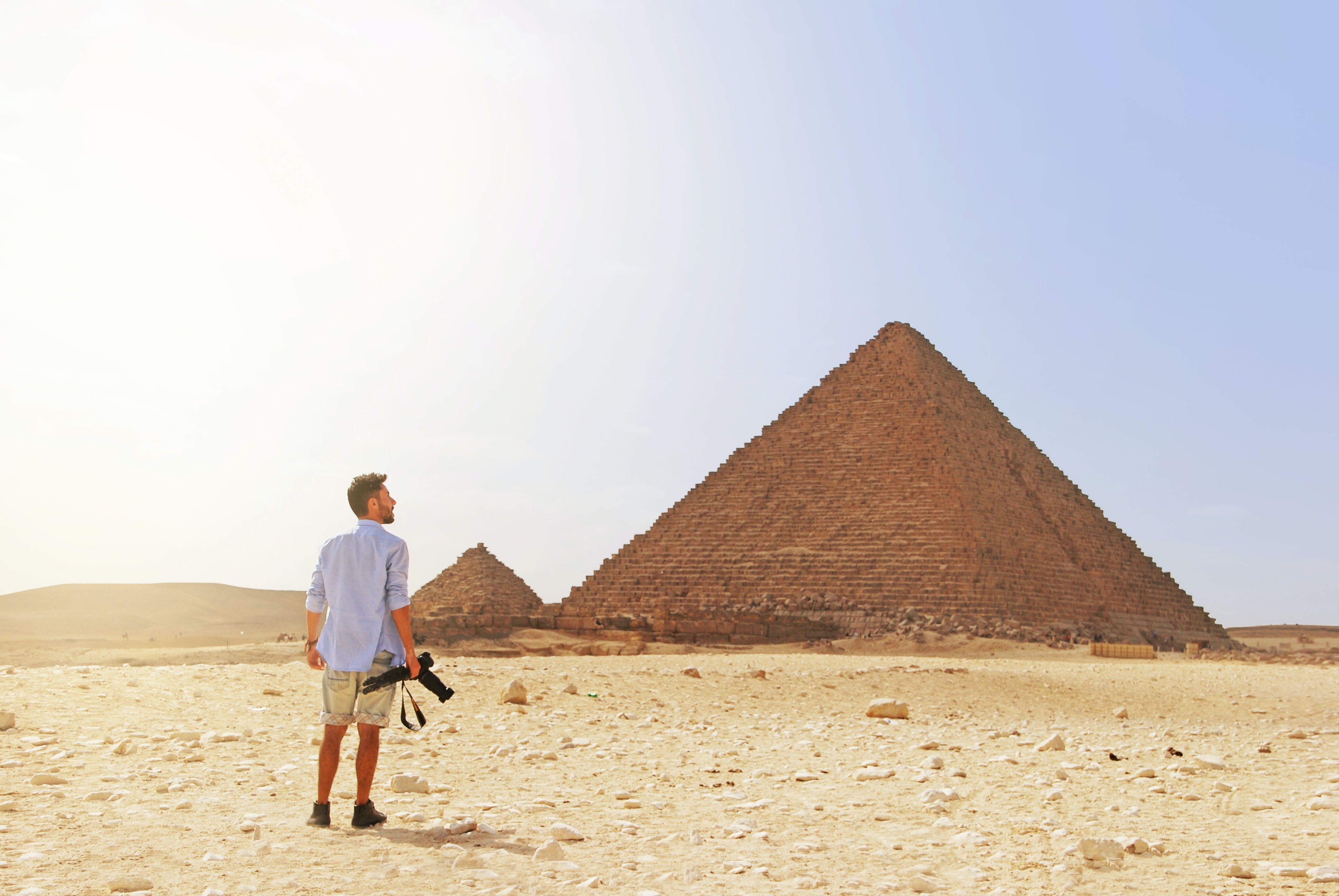 Free stock photo of africa, backpacker, cairo, egyp