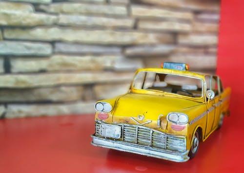 Základová fotografie zdarma na téma taxi, žlutá, žluté auto