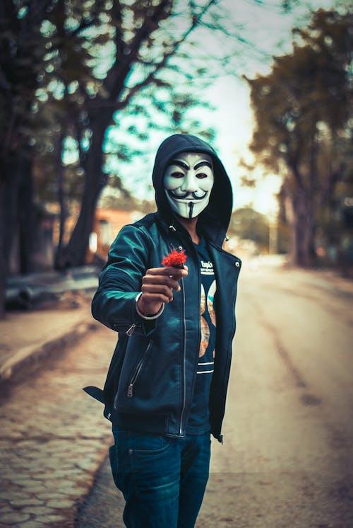 Kostenloses Stock Foto zu blume, maske, maskiert
