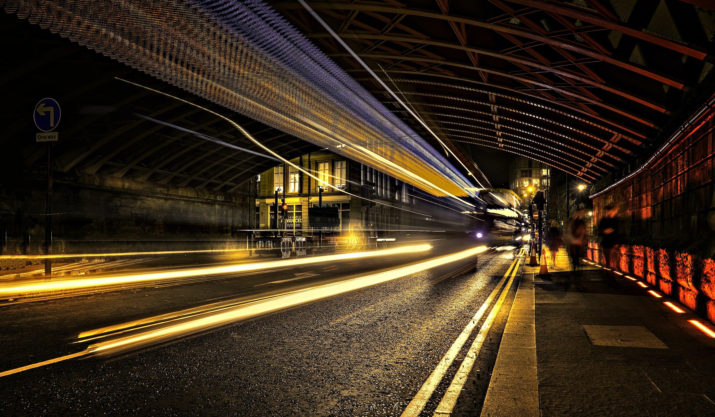 Concrete Road Time Lapse Photography