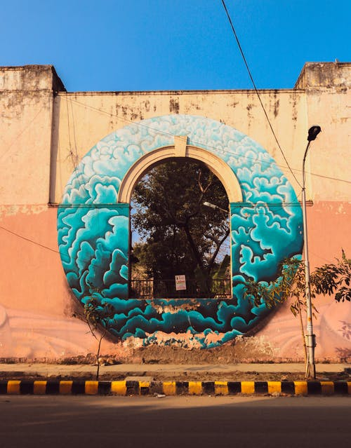 Photos gratuites de art mural, delhi, graffiti, graphique