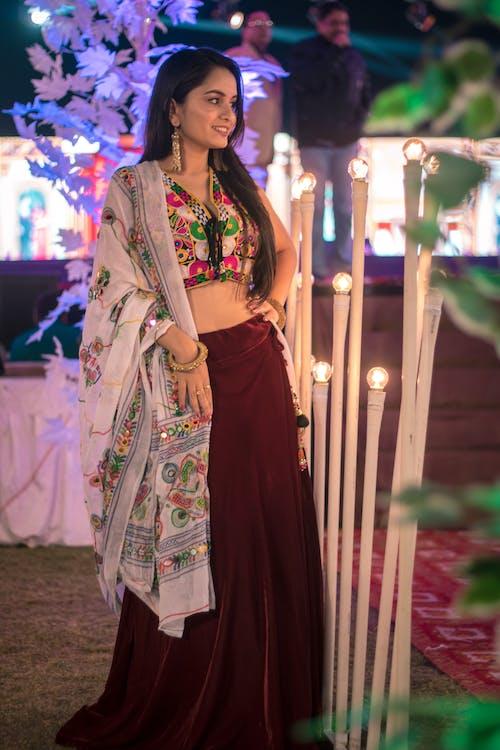 Fotobanka sbezplatnými fotkami na tému dievča, farebná, indický, krásny