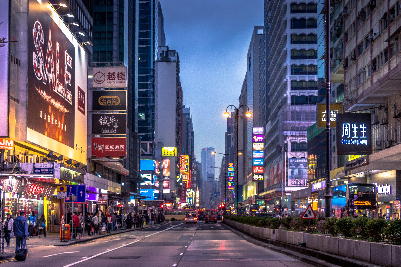 Gratis lagerfoto af arkitektur, asiatisk, folk, hongkong