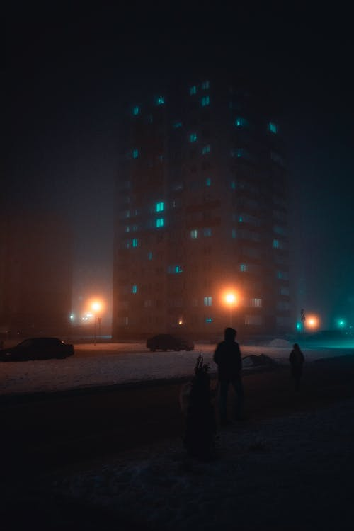 Photos gratuites de architecture, bâtiment, brouillard, brouiller