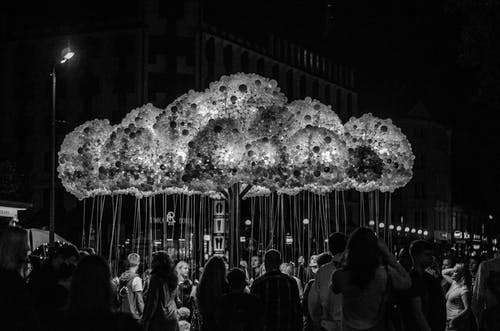 Kostnadsfri bild av glödlampor, konst, kreativ, natt