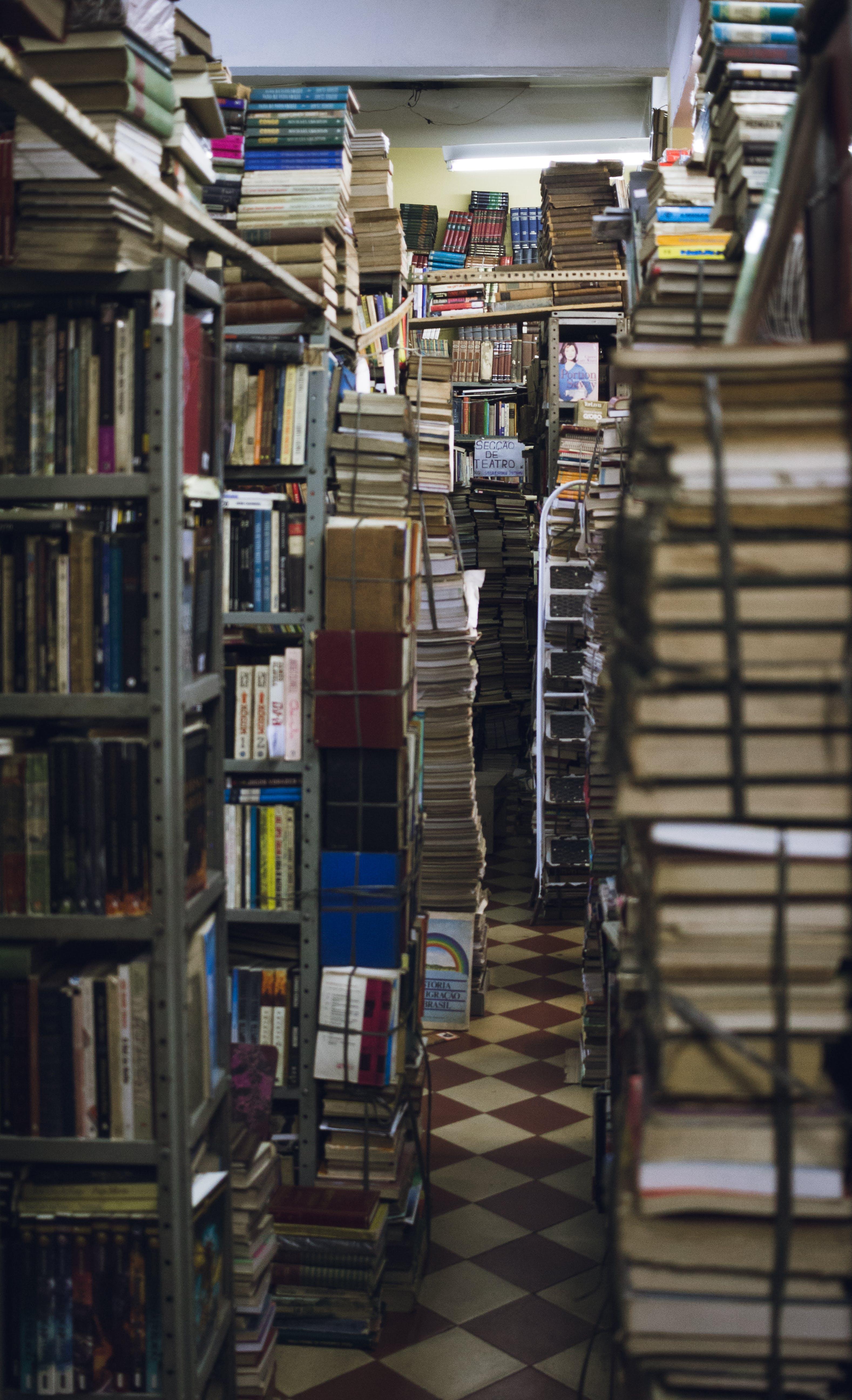 Fotos de stock gratuitas de acción, adentro, almacenamiento, biblioteca