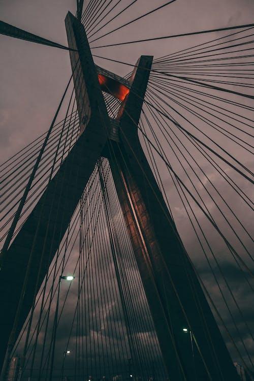 Black Suspension Bridge