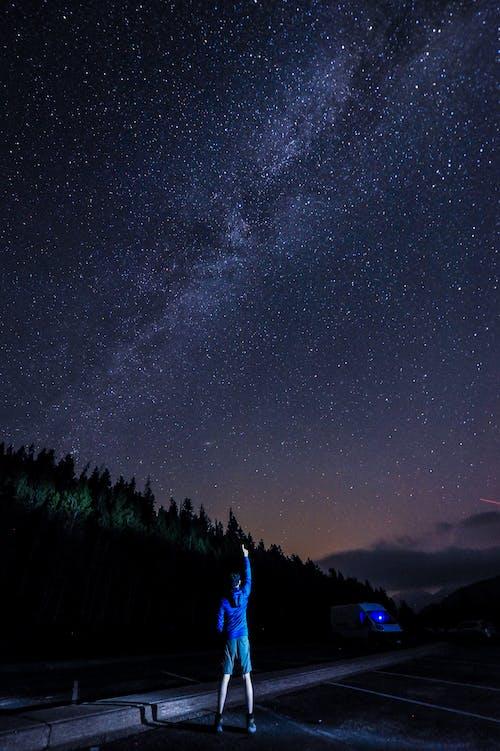 Kostenloses Stock Foto zu astronomie, dunkel, erkundung, himmel