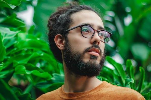 Бесплатное стоковое фото с борода, выражение лица, глубина резкости, заводы