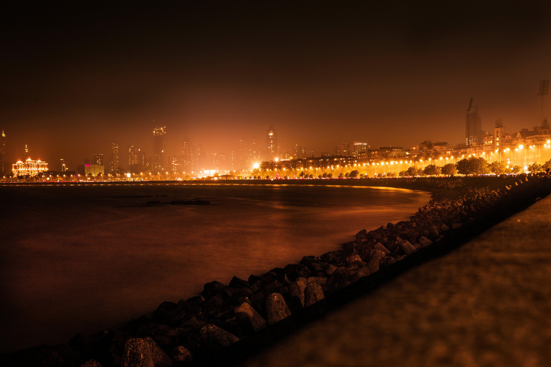 Free stock photo of beach, long exposure