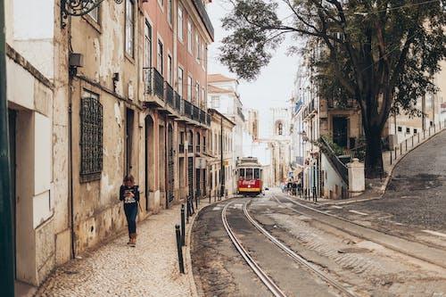 Δωρεάν στοκ φωτογραφιών με αρχιτεκτονική, αστικός, γοτθικός, γραμμές του τραμ