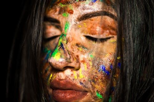 人, 嘴唇, 塗料, 女人 的 免費圖庫相片