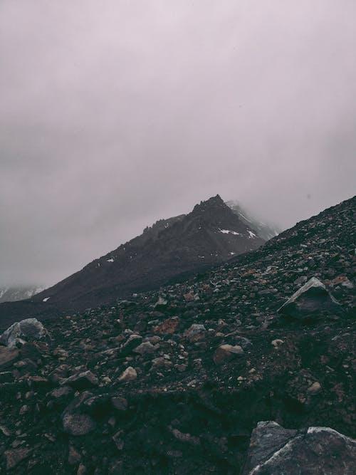 Mountain Range Cover of Fogs