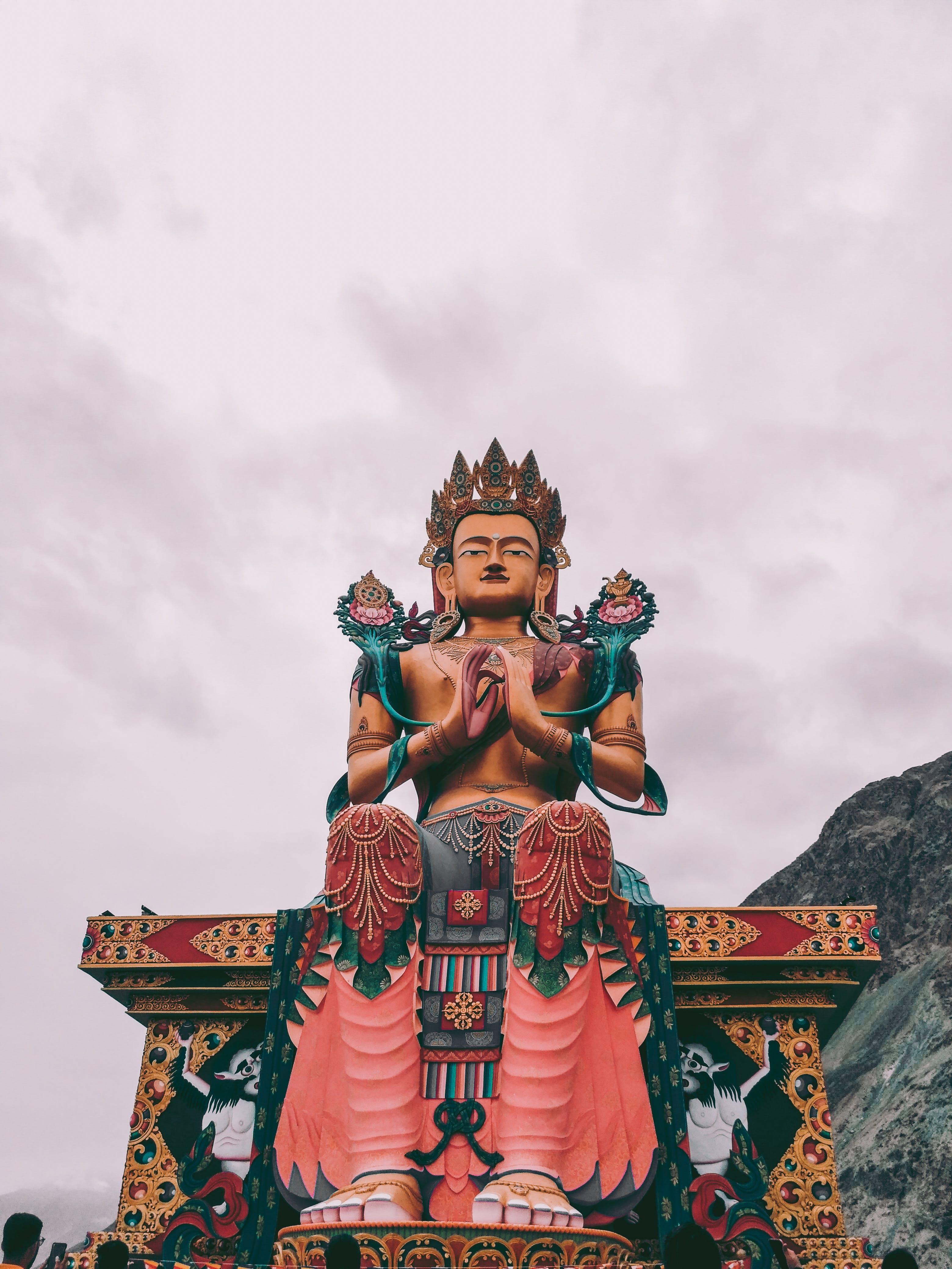 上帝, 人, 佛教, 傳統 的 免費圖庫相片