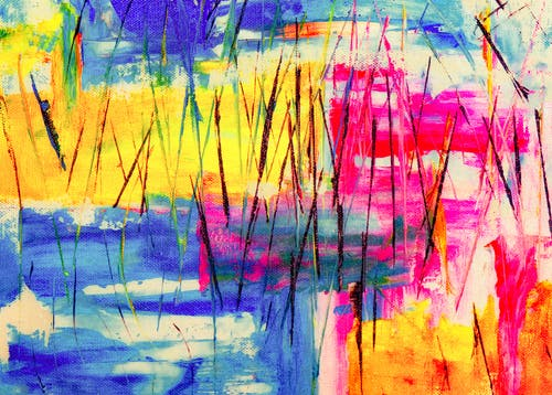 Gratis lagerfoto af 4k-baggrund, abstrakt ekspressionisme, abstrakt maleri, akrylmaling