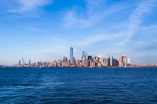 Безкоштовне стокове фото на тему «вода, горизонт, місто Нью-Йорк, Нью-Йорк»