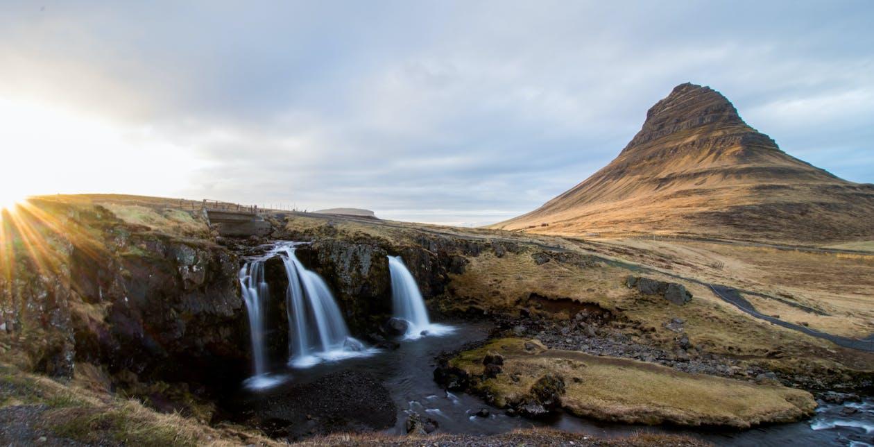góra, islandia, kirkjufell