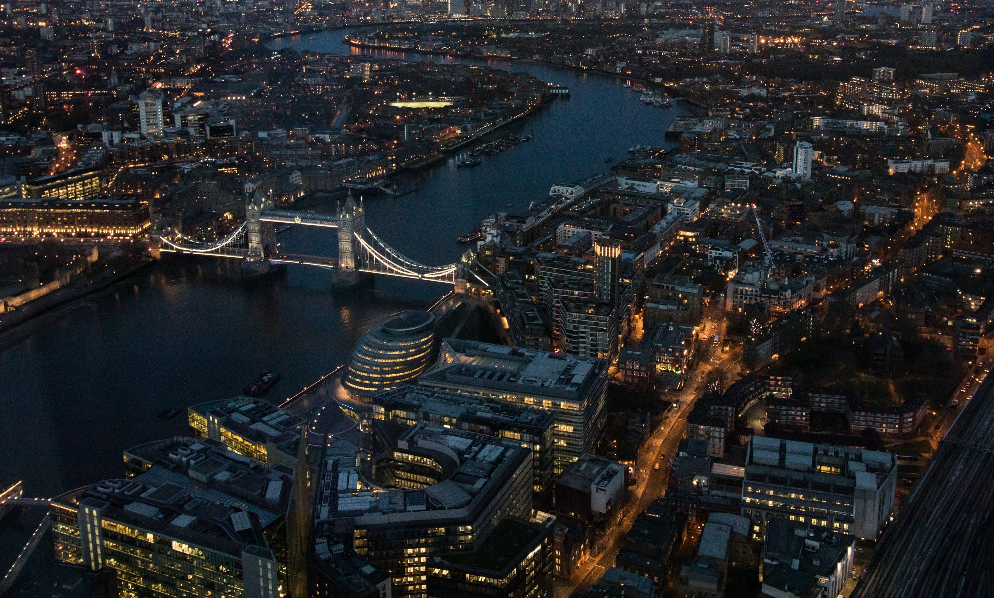 Free stock photo of bridge, cityscape, london, river thames