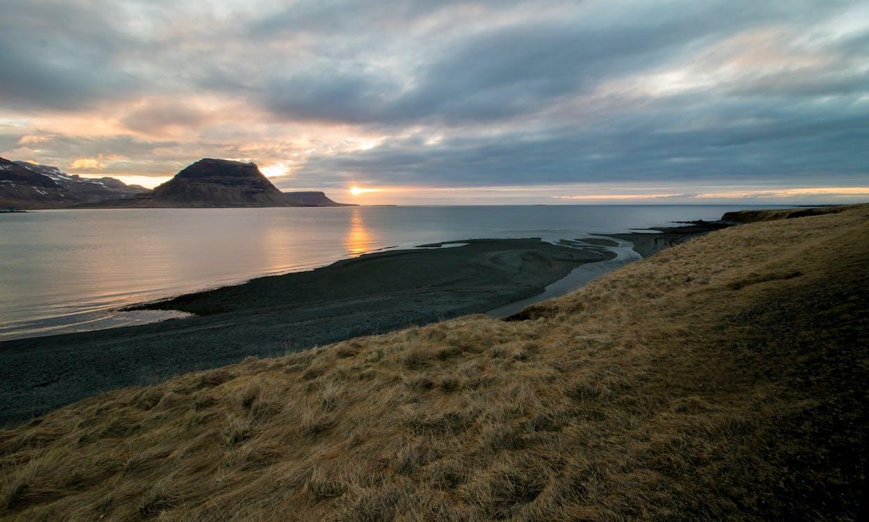 capvespre, Islàndia, kirkjufell