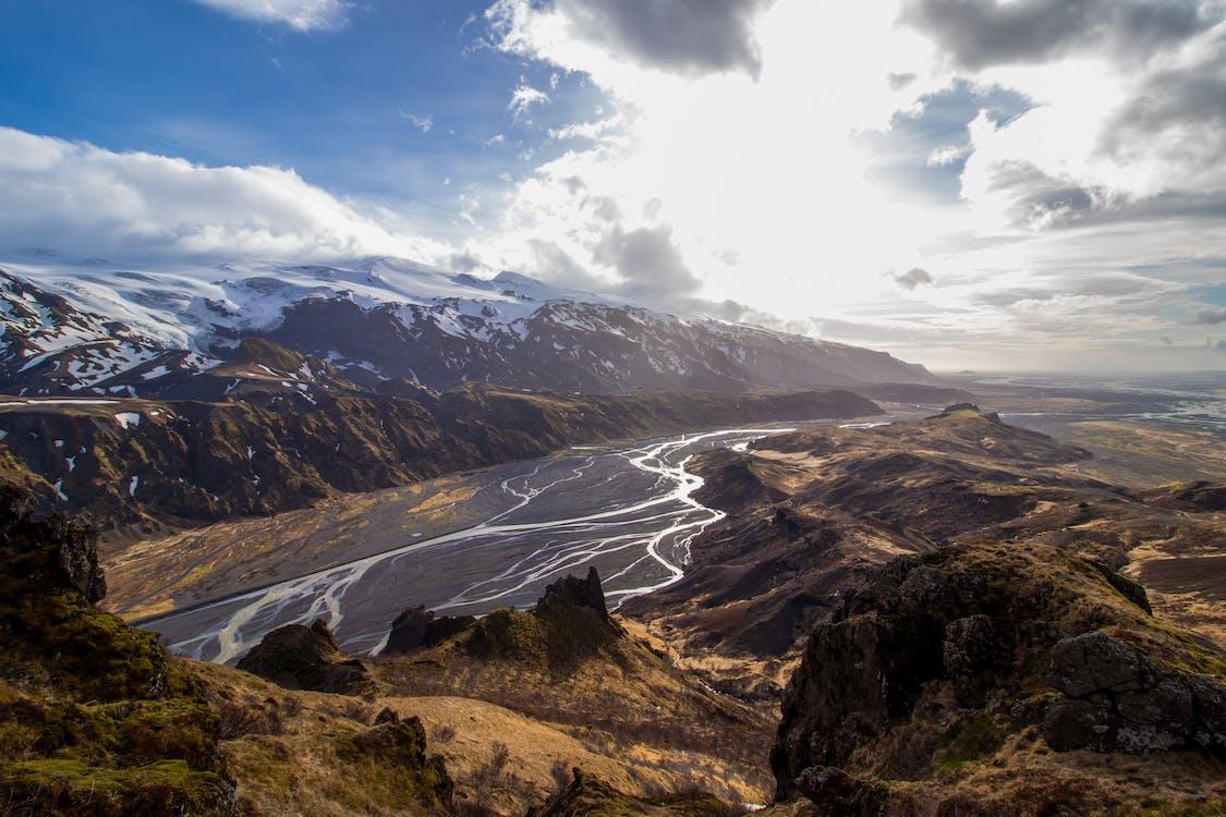 Húsadalur Valley, iceland, nature