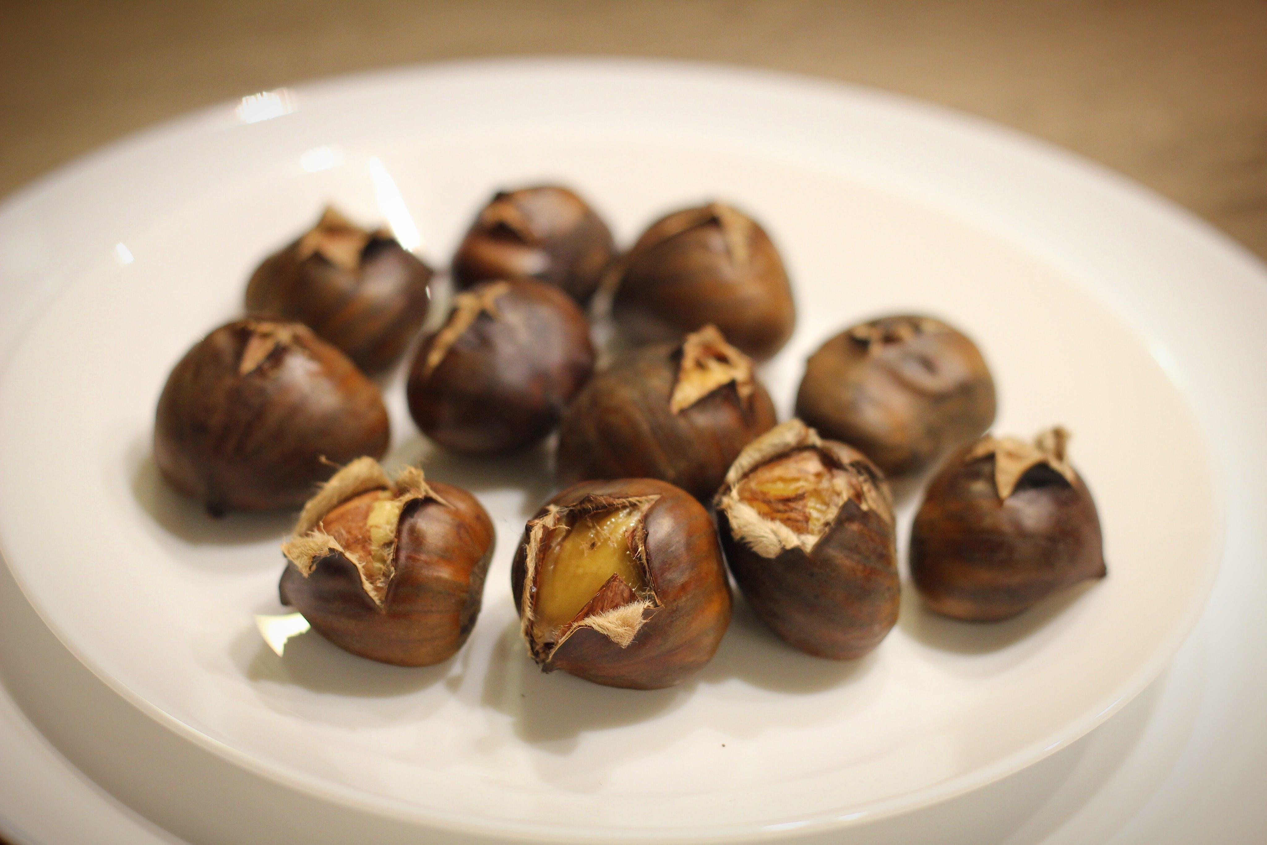 Free stock photo of chestnut, gastronomy, yummy